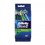 GILLETTE ΞΥΡΑΦΑΚΙΑ BLUE II PLUS SLALOM 10τεμ.