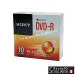 DVD-R SLIM CASE SET 10τεμ.